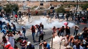 تظاهرة في سلوان ضد الاستيلاء على المنازل وهدمها واعتداء على مسيرة كفر قدوم الاسبوعية