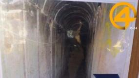 جيش الاحتلال يزعم اكتشاف نفق اجتاز الحدود من مدينة خانيونس