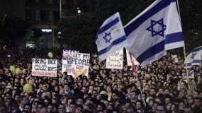 تجدد المظاهرات في عدة مدن إسرائيلية ضد نتنياهو واعتقالات في صفوف المحتجين