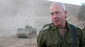 """غالنت: """"لن نقبل إطلاق الصواريخ من غزة علينا""""!"""