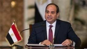 السيسي: جهود مصر في المصالحة الفلسطينية لدعم السلطة ودورها في قطاع غزة