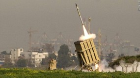 القبة الحديدية تعترض صاروخاً أطلق من القطاع