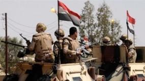 الجيش المصري يعلن مقتل 13 ارهابياً وتفجير 4 أحزمة ناسفة بشمال سيناء