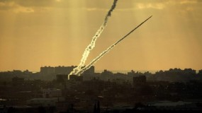 إطلاق صاروخين من قطاع غزة والقبة الحديدية تعترض أحدهما