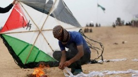 توقعات بأن يَرُدَّ جيش الاحتلال الإسرائيلي على إطلاق البالونات الحارقة من القطاع  يفرض طوقا بحر يا حتى إشعار آخر