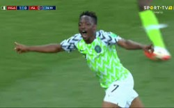 نيجيريا تحصد برونزوية أمم أفريقيا بهدف مبكر فى تونس