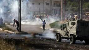 إصابات بالاختناق خلال مواجهات مع جيش الاحتلال