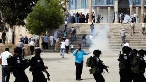 إصابات واعتقالات بمواجهات مع الاحتلال بالاقصى ويهود يحرقون مسجداً ببيت صفافا