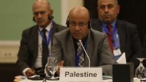 أبو هولي يطالب الدول المانحة المشاركة في مؤتمر التعهدات بدعم الأونروا وتغطية العجز المالي في ميزانيتها