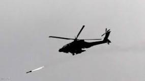مروحيات إسرائيلية تهاجم هدفًا في الجولان السوري