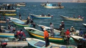 """""""الزراعة"""" بغزة: فتح البحر أمام الصيادين"""