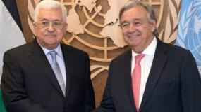 في رسالة إلى غوتيريش..عباس يقترح تشكيل آلية تنسيق لمواجهة كورونا
