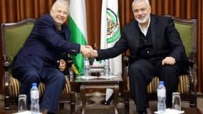 وصول وفد لجنة الانتخابات قطاع غزة للقاء حماس