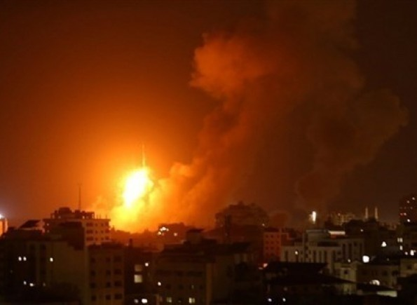 طائرات الاحتلال تقصف عدة أهداف في قطاع غزة