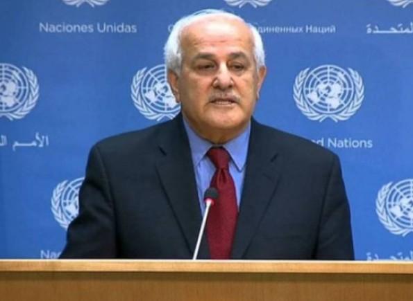 منصور يدعو لتوفير الحماية الفورية للشعب الفلسطيني وفقًا للقانون الدولي